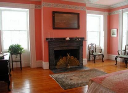 Delano Homestead Bed & Breakfast fireplace