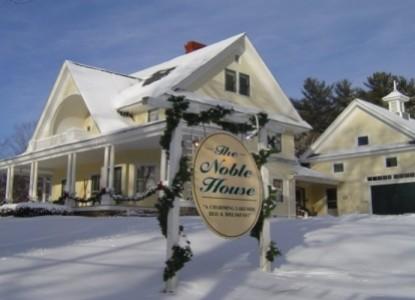 Noble House Inn snow