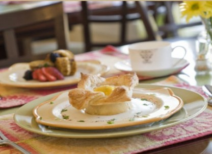The Rose Cottage Bed & Breakfast food