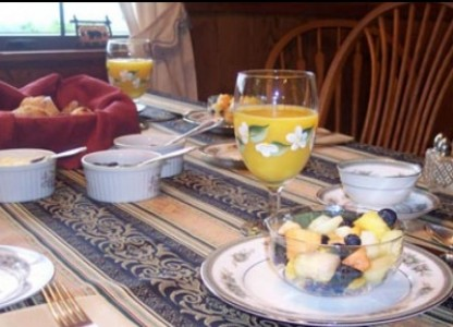High Laurel Inn-Breakfast