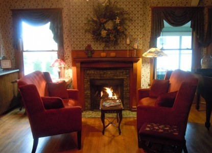 932 Penniman, A Bed and Breakfast, fireplace