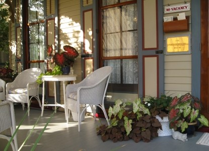 The Gingerbread House-Porch