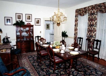 Ivy Bed & Breakfast, dining are
