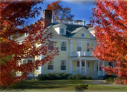 Georgian Governor's mansion is Vermont Bed & Breakfast Inn with luxury & the gracious elegance of an earlier time.