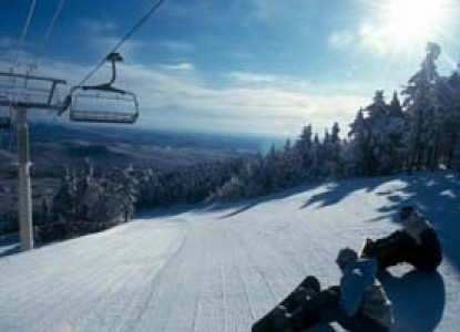 Two Weekday Nights lodging, A three course breakfast each morning, Two Weekday Lift Tickets for two