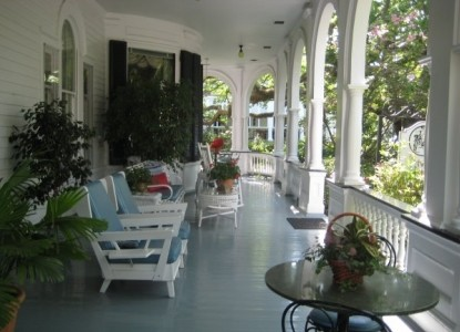Two Meeting Street Inn, patio