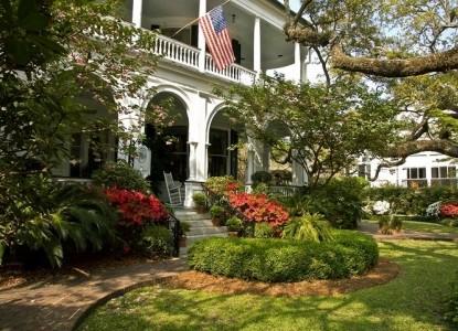 Two Meeting Street Inn, garden