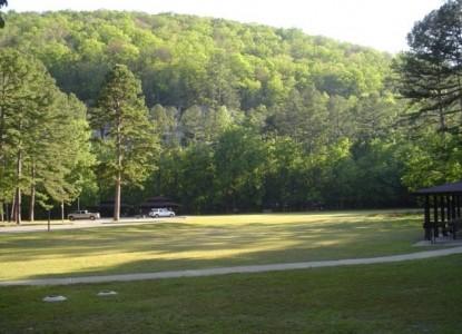 Blanchard Caverns Cabin recreational area
