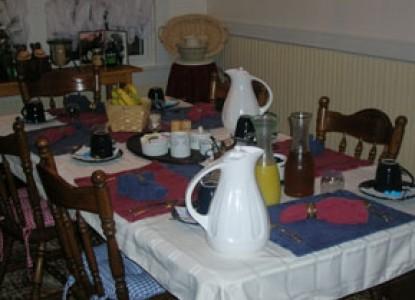 Buffalo Tavern Bed and Breakfast breakfast