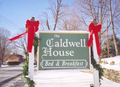 Caldwell House Bed and Breakfast, marquee