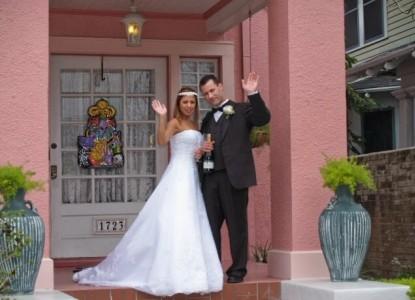 The Villa Bed & Breakfast Wedding