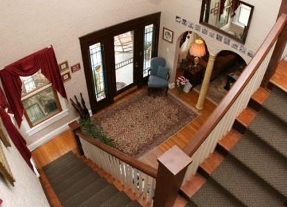 The Aberdeen Inn, Asheville, North Carolina, stairs
