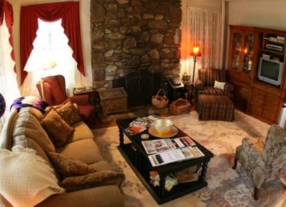 The Aberdeen Inn, Asheville, North Carolina, living area