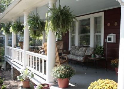 The Aberdeen Inn, Asheville, North Carolina, porch