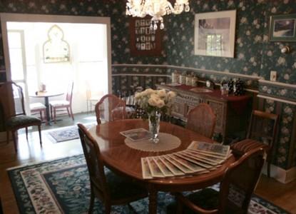 The Aberdeen Inn, Asheville, North Carolina, dining area