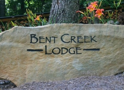 Bent Creek Lodge rocks