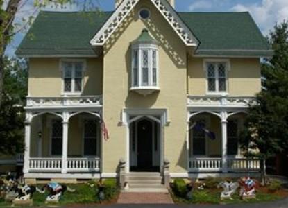 1853 Inn at Woodhaven, front of inn