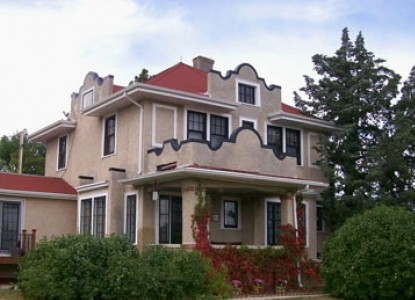 Triangle Ranch Bed & Breakfast, front view