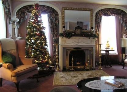 Inn Victoria, Chester, Vermont, christmas
