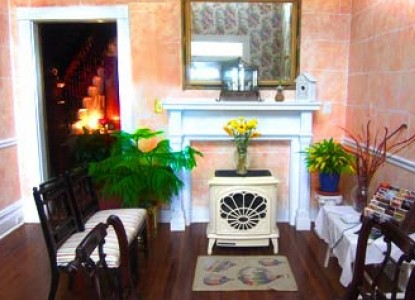 The Mark Addy Bed & Breakfast Inn fireplace