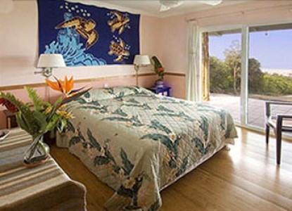 Mango Sunset Bed & Breakfast Inn at Lyman Kona Coffee Farms, Kailua Kona, Hawaii, bedroom
