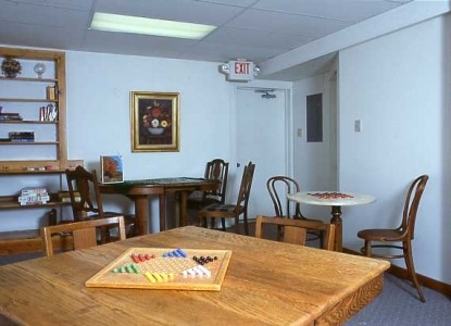 The Bross Hotel - Paonia, Colorado game room