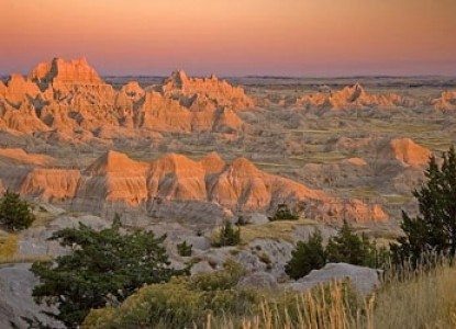 Named Outside Magazine's 'South Dakota Hike'. From a lofty crag - view life in perspective, feel the prairie breeze