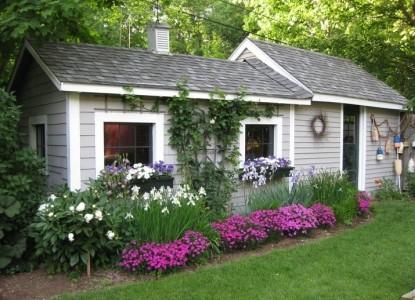 The Morning Glory Inn Potting shed