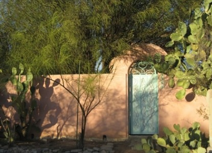 The Azure Gate Bed & Breakfast, Tucson, Arizona, front