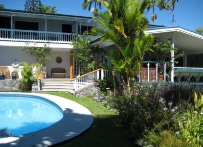 Orchid Tree Bed & Breakfast, Relax by the pool
