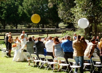 Cypress House Ranch Bed & Breakfast-Wedding Reception