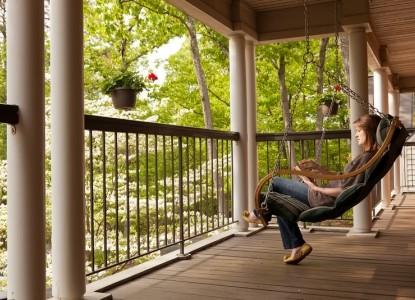 The Iris Inn porch