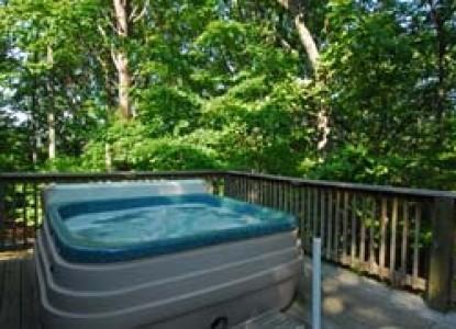 The Iris Inn hot tub