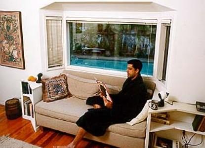 Dean's Bed & Breakfast, living room