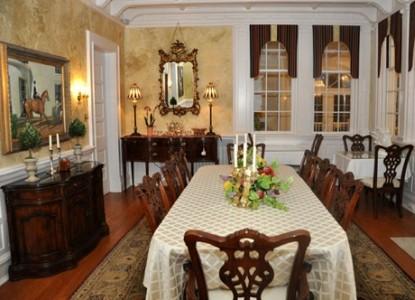 A Storybook Inn dining table