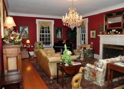 A Storybook Inn sitting room