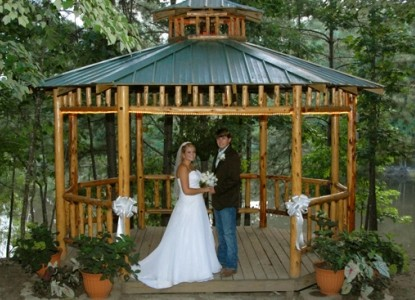 Captain Schoonmaker's Bed & Breakfast, Wedding Gazebo