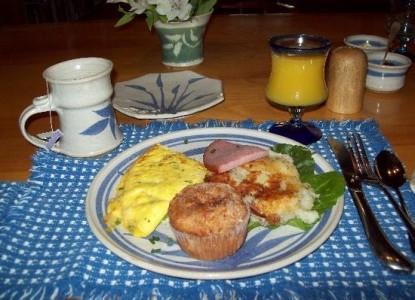 Deer Run Ranch Bed & Breakfast, breakfast