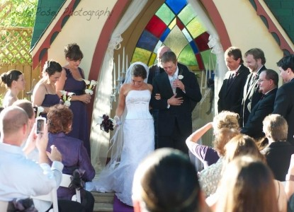 The Empress of Little Rock weddings
