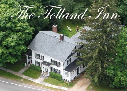 The Tolland Inn, aerial view
