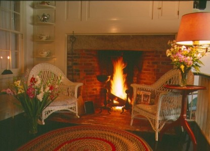 The Tolland Inn, fireplace