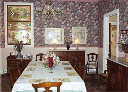 The Gingerbread House-Dining Room