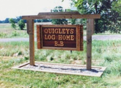 Quigley's Log Home