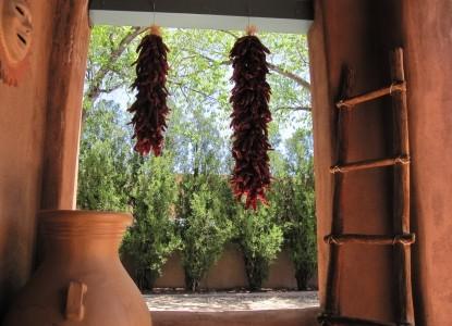 Pueblo Bonito Bed & Breakfast window
