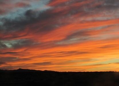 Pueblo Bonito Bed & Breakfast sunset