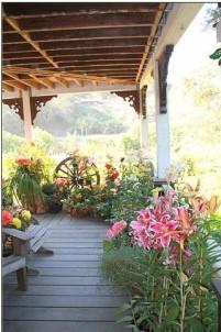 Howard Creek Ranch Porch