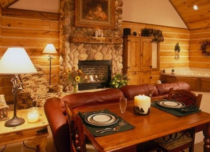 Cabins & Candlelight, LLC, living room