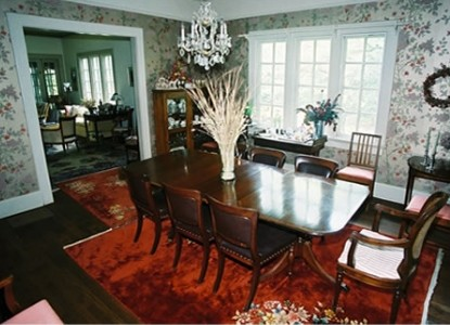 Inman Park Bed & Breakfast- The Woodruff House, dining room