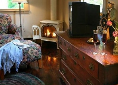 Blue Harbor House, captain quarters suite