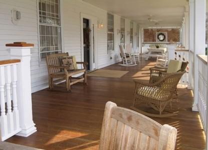 Captain Stannard House Country Inn-Porch
